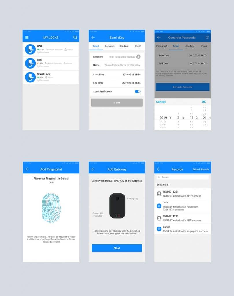 ttlock mobilna aplikacija