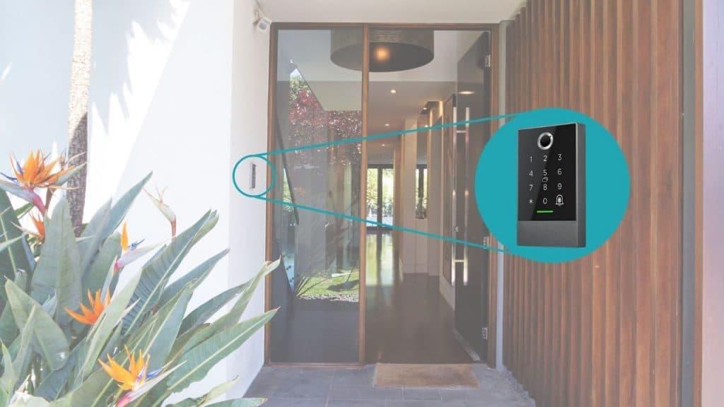 montirana kboard 20 elektronska tipkovnica za vrata